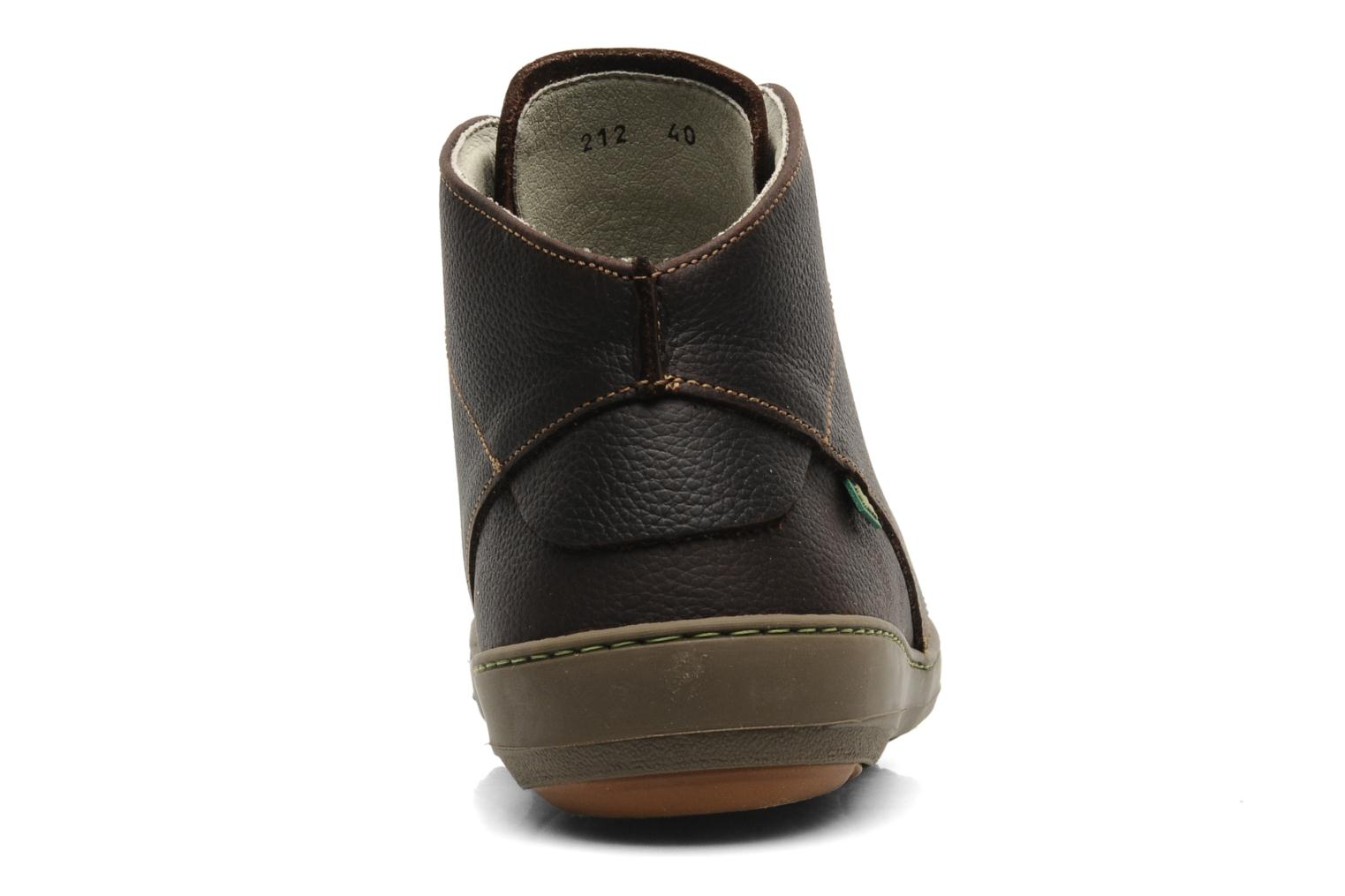 Lace-up shoes El Naturalista Meteo N212 Brown view from the right