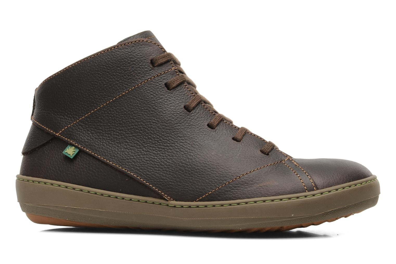 Lace-up shoes El Naturalista Meteo N212 Brown back view