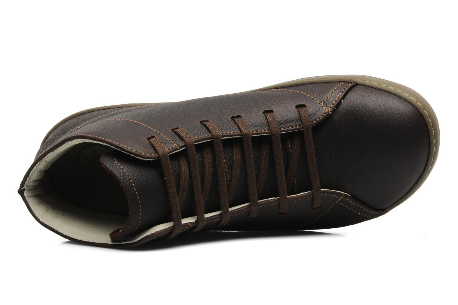 Lace-up shoes El Naturalista Meteo N212 Brown view from the left
