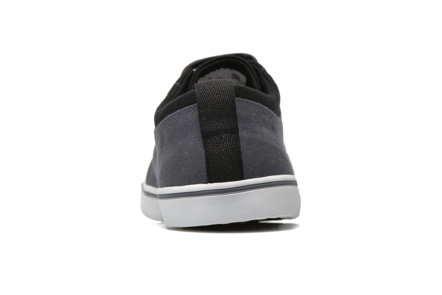 Baskets Fred Perry Hallam Twill Gris vue droite