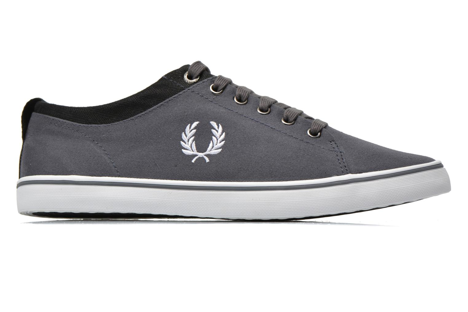 Baskets Fred Perry Hallam Twill Gris vue derrière