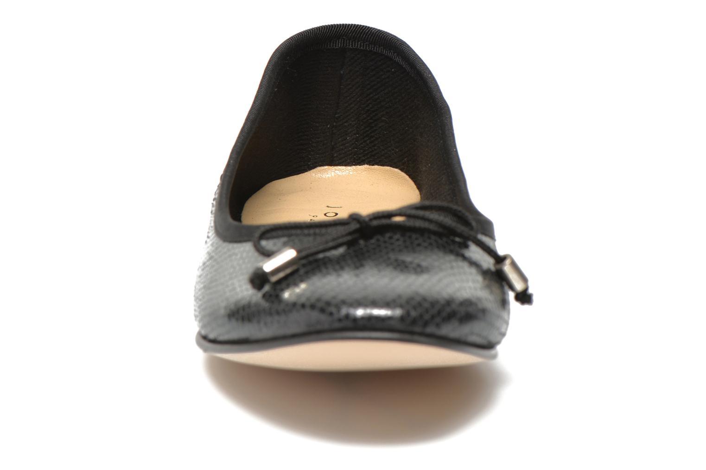 Ballerines Jonak Dhin Noir vue portées chaussures