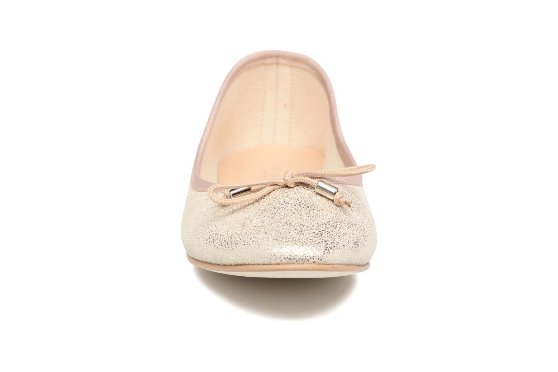 Ballerines Jonak Dhin Or et bronze vue portées chaussures