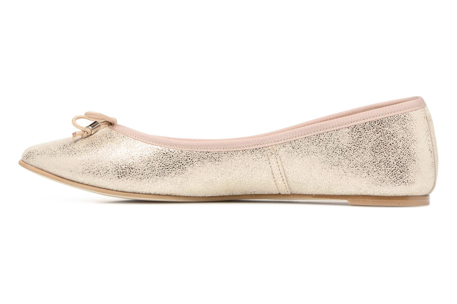 Ballerines Jonak Dhin Or et bronze vue face