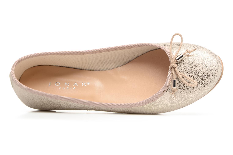 Ballerina's Jonak Dhin Goud en brons links