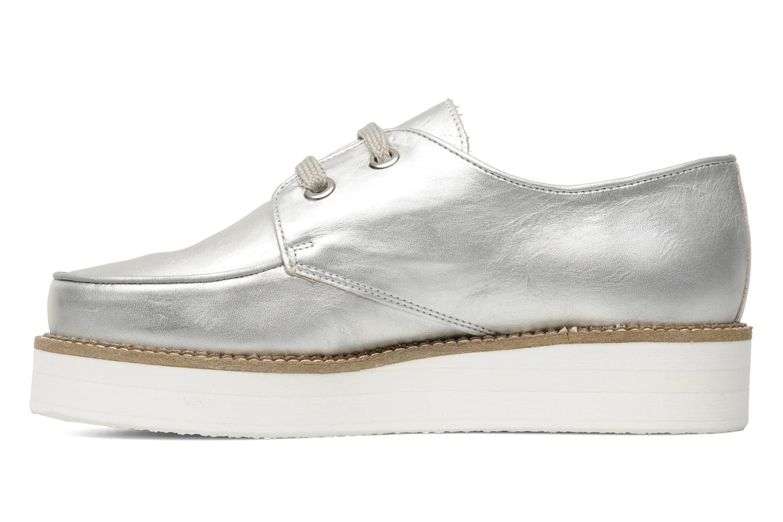 Chaussures à lacets Jonak Jamy Argent vue face