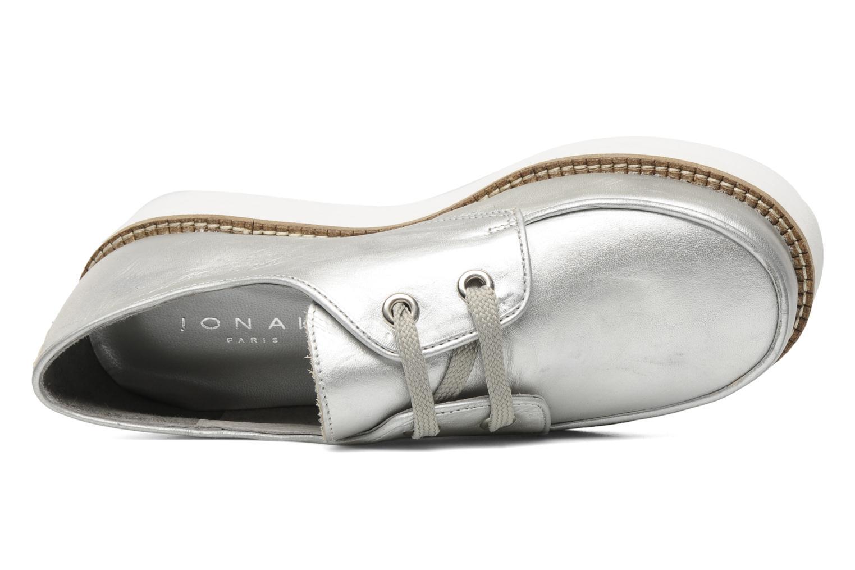 Chaussures à lacets Jonak Jamy Argent vue gauche