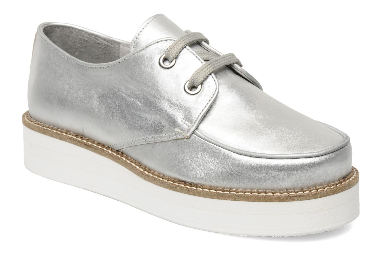 Chaussures à lacets Jonak Jamy Argent vue détail/paire