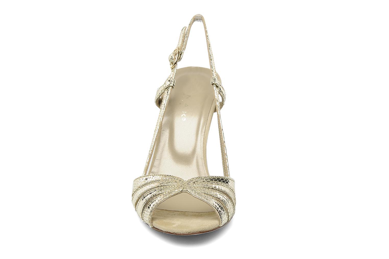 Sandalen Jonak Andes gold/bronze schuhe getragen