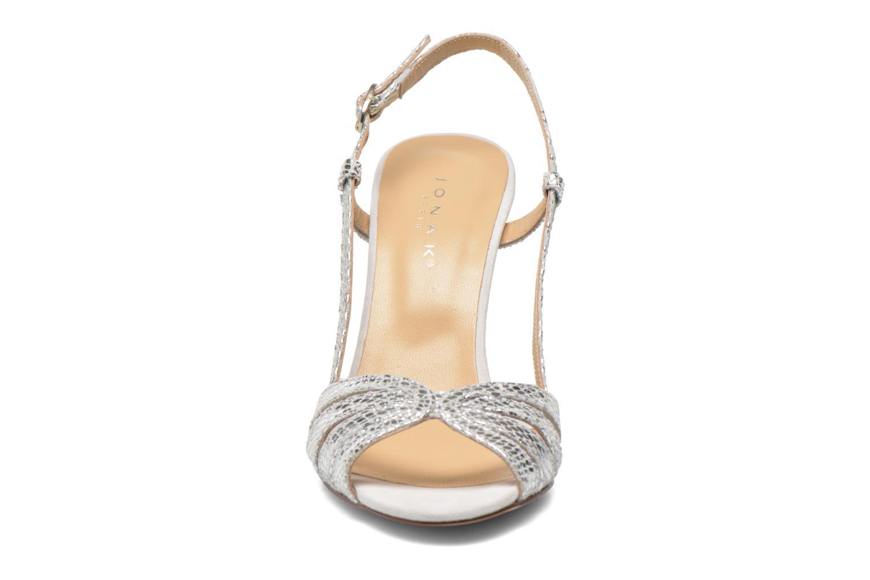 Sandalen Jonak Andes silber schuhe getragen