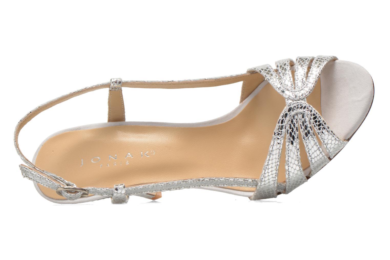 Sandales et nu-pieds Jonak Andes Argent vue gauche