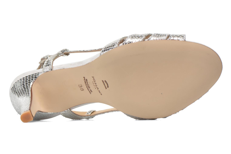 Sandales et nu-pieds Jonak Andes Argent vue haut