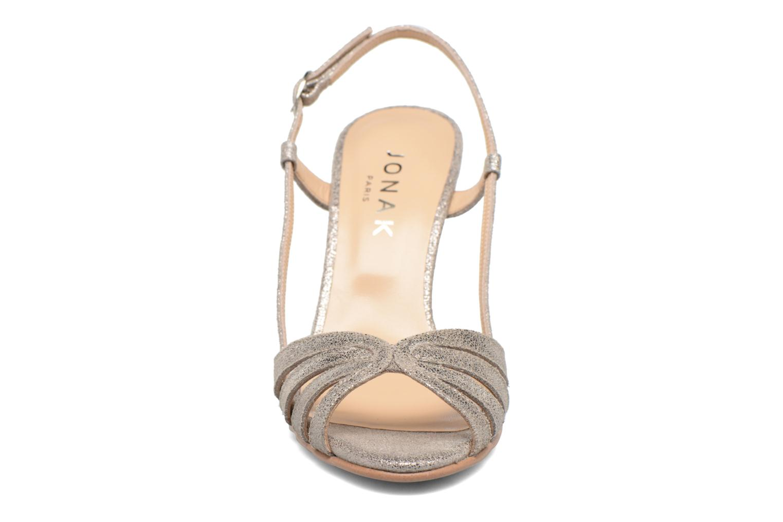 Sandales et nu-pieds Jonak Andes Argent vue portées chaussures