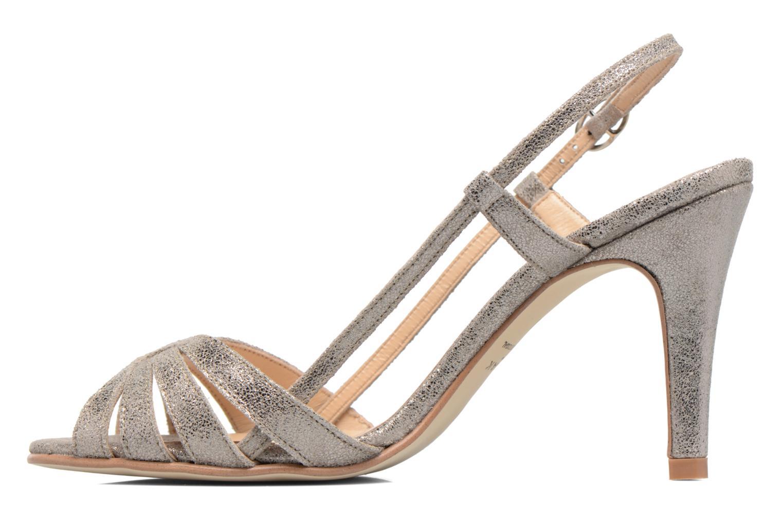 Sandales et nu-pieds Jonak Andes Argent vue face