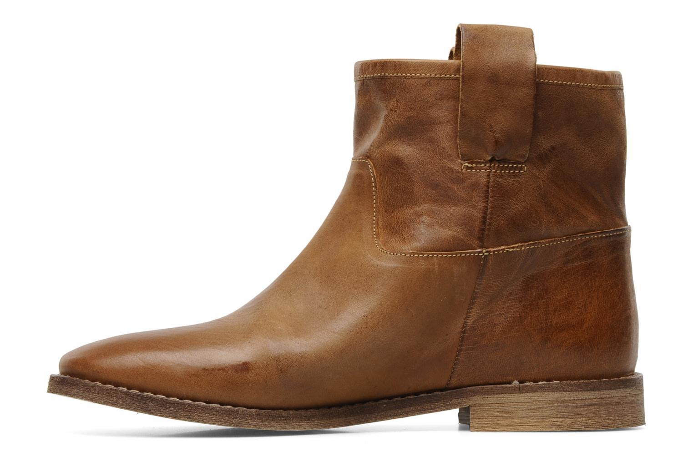 Bottines et boots Jonak Rora Marron vue face