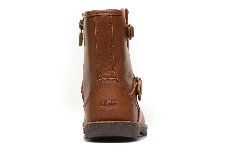 Bottines et boots UGG Harwell Marron vue droite