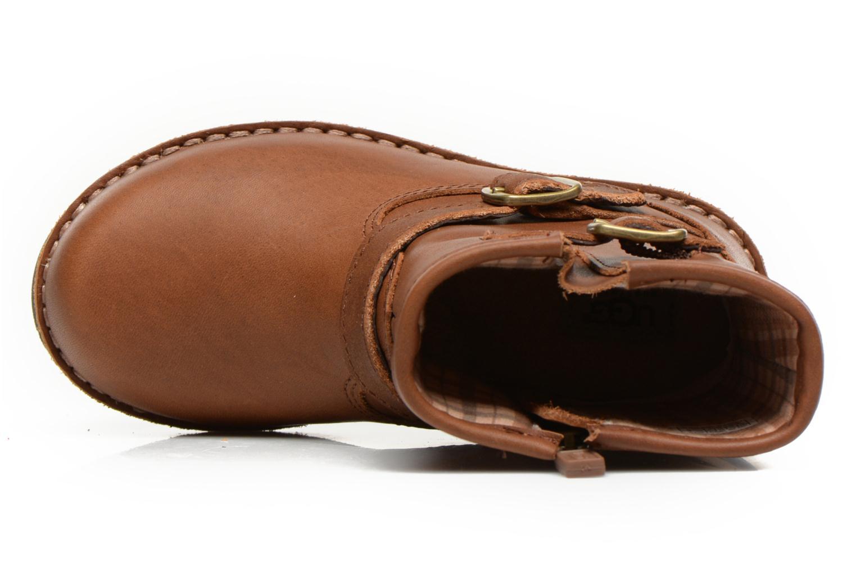 Bottines et boots UGG Harwell Marron vue gauche