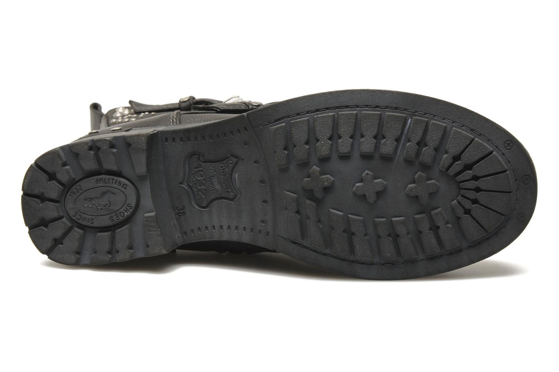 Boots en enkellaarsjes Mustang shoes Inge Zwart boven
