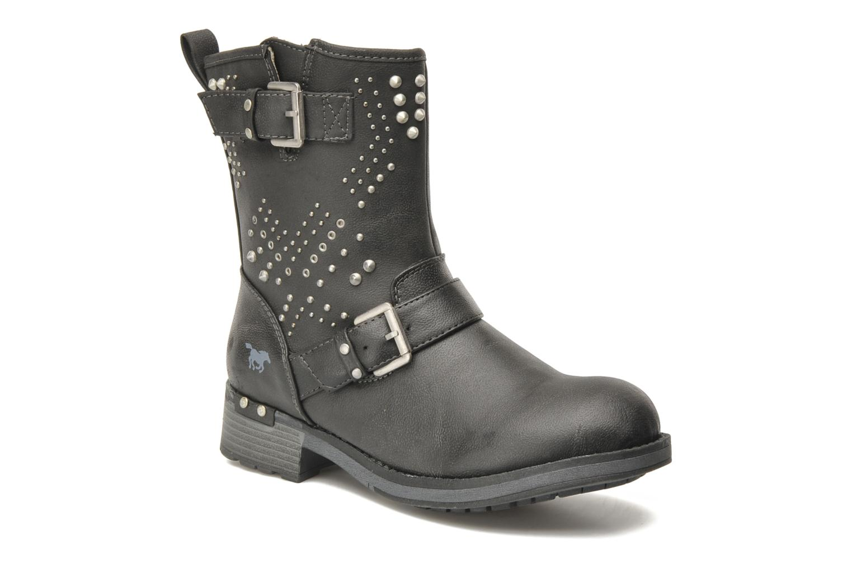 Boots en enkellaarsjes Mustang shoes Inge Zwart detail