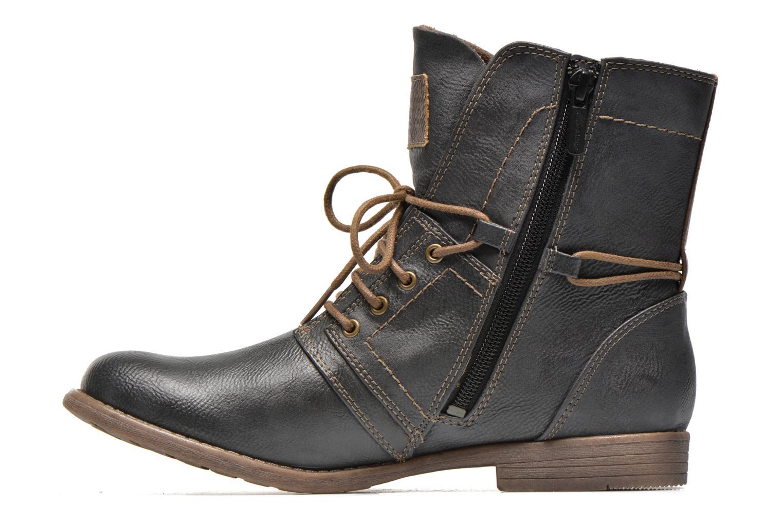 Bottines et boots Mustang shoes Mirjam Gris vue face