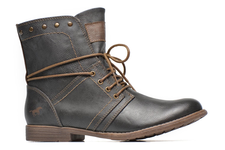 Bottines et boots Mustang shoes Mirjam Gris vue derrière