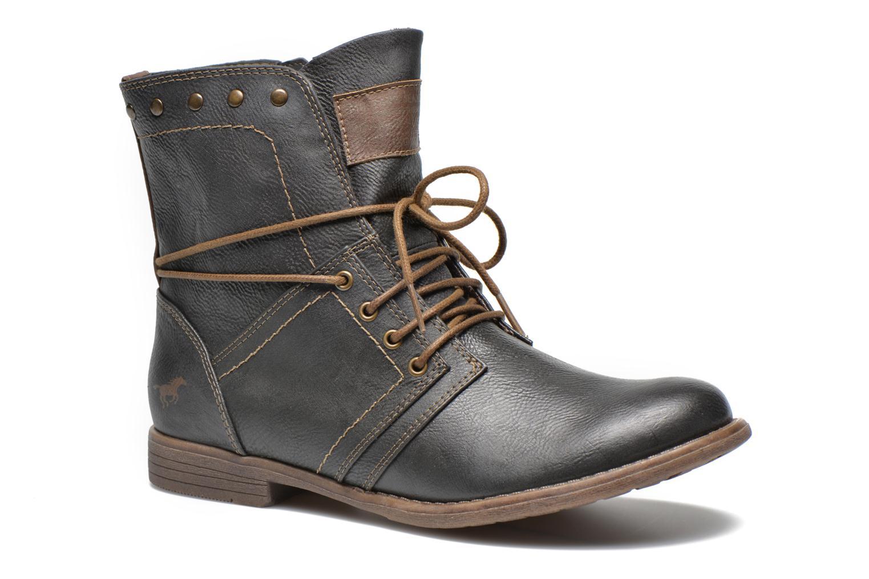 Bottines et boots Mustang shoes Mirjam Gris vue détail/paire