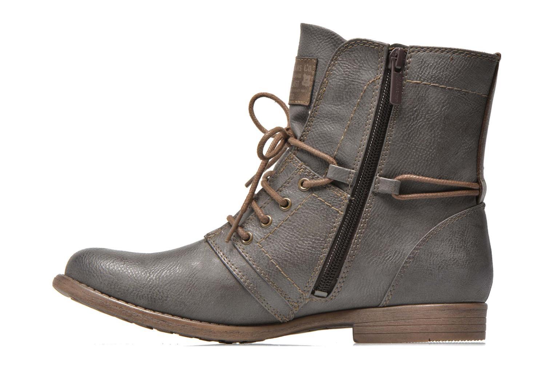 Boots en enkellaarsjes Mustang shoes Mirjam Grijs voorkant