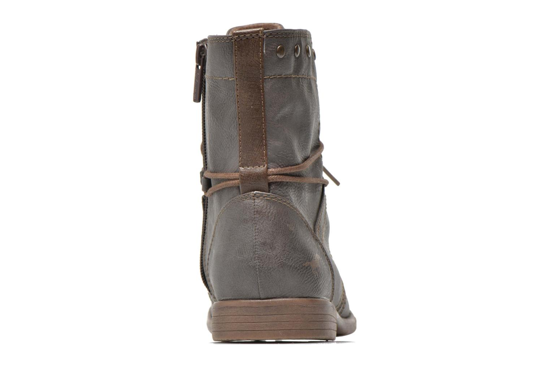 Bottines et boots Mustang shoes Mirjam Gris vue droite