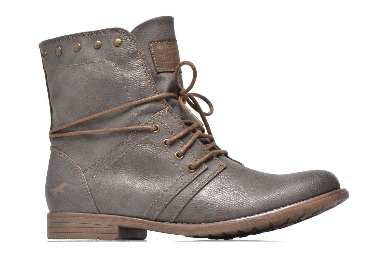 Boots en enkellaarsjes Mustang shoes Mirjam Grijs achterkant