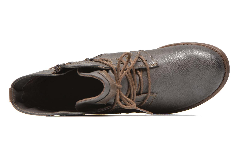 Boots en enkellaarsjes Mustang shoes Mirjam Grijs links