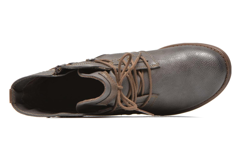 Bottines et boots Mustang shoes Mirjam Gris vue gauche