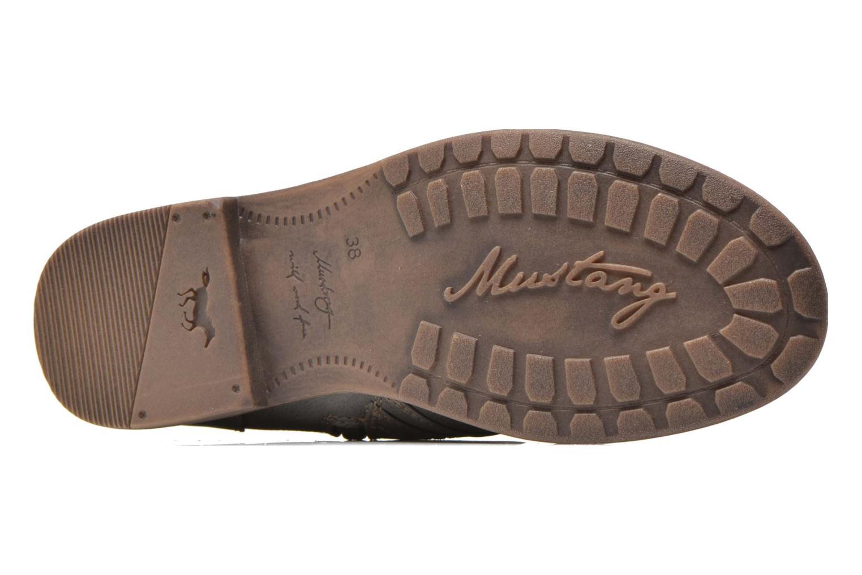 Bottines et boots Mustang shoes Mirjam Gris vue haut