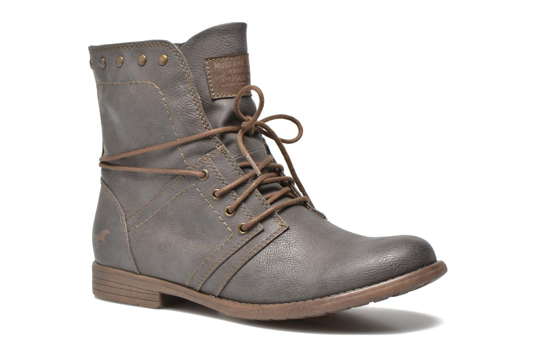 Boots en enkellaarsjes Mustang shoes Mirjam Grijs detail