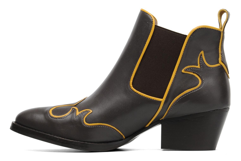Stiefeletten & Boots Mellow Yellow Ouestcost grau ansicht von vorne
