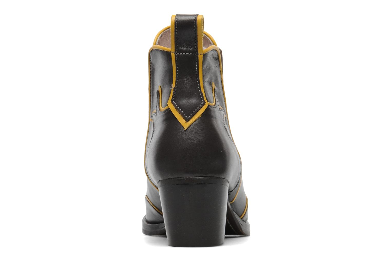 Botines  Mellow Yellow Ouestcost Gris vista lateral derecha