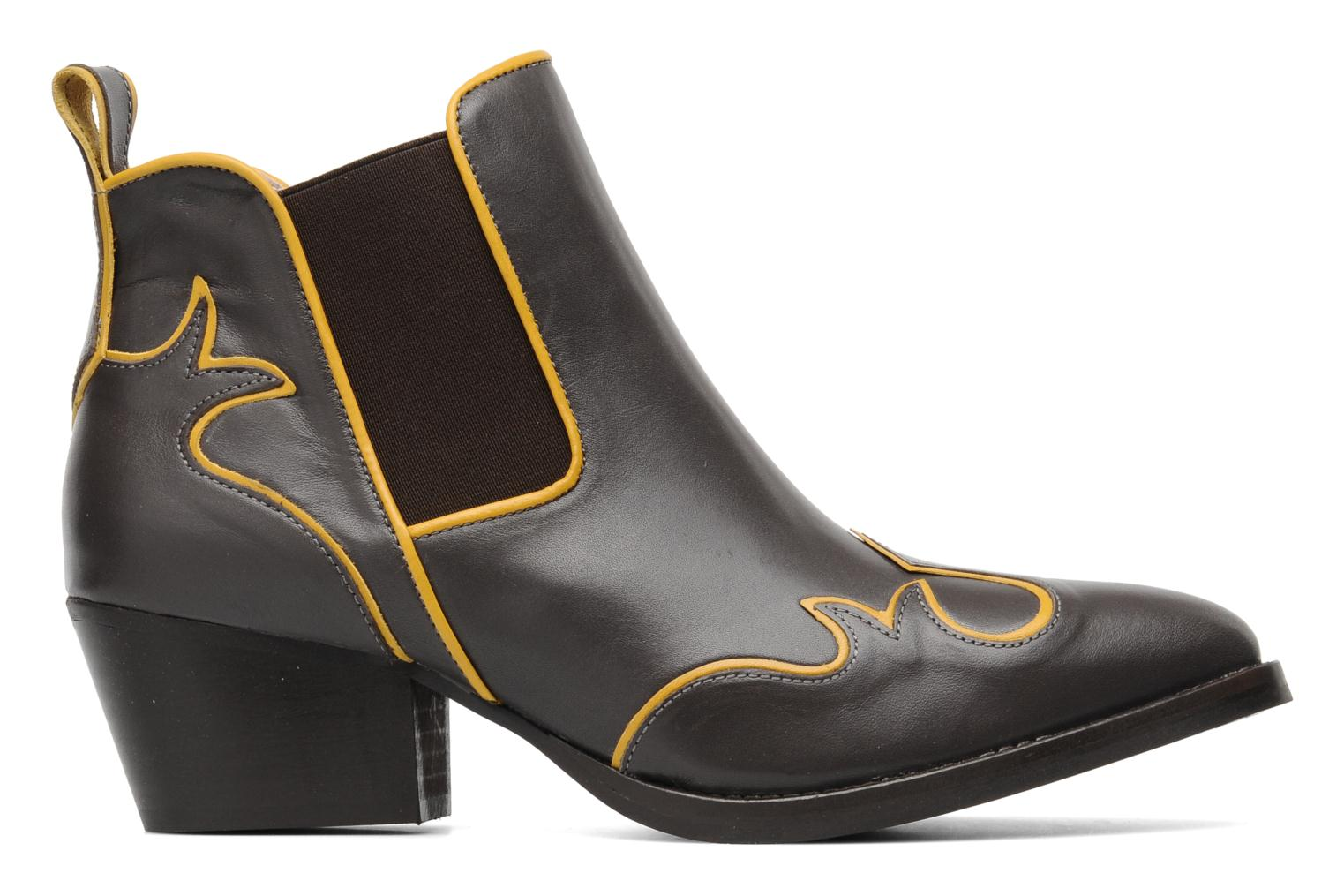 Botines  Mellow Yellow Ouestcost Gris vistra trasera
