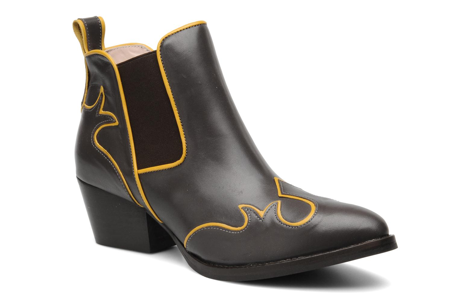 Ankle boots Mellow Yellow Ouestcost Grey detailed view/ Pair view
