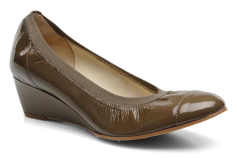 Høje hæle Elizabeth Stuart NEMO 348 Brun detaljeret billede af skoene
