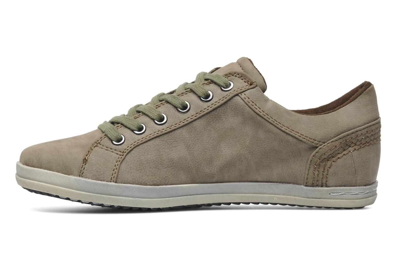 Sneakers I Love Shoes Saffa Beige voorkant