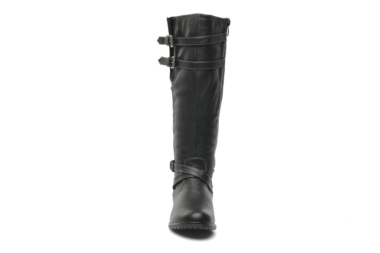 Bottes I Love Shoes Salama Noir vue portées chaussures