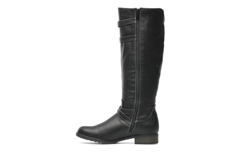 Bottes I Love Shoes Salama Noir vue face