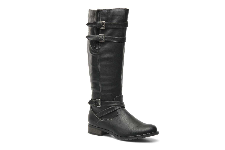 Bottes I Love Shoes Salama Noir vue détail/paire