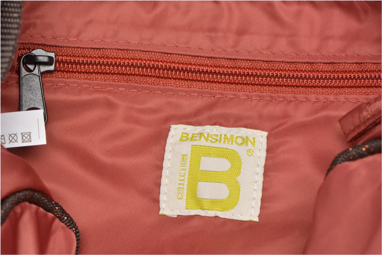 Sacs à main Bensimon Small Besace Orange vue derrière