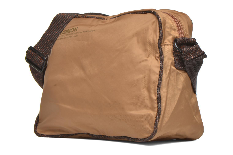 Handtaschen Bensimon Small Besace beige schuhe getragen