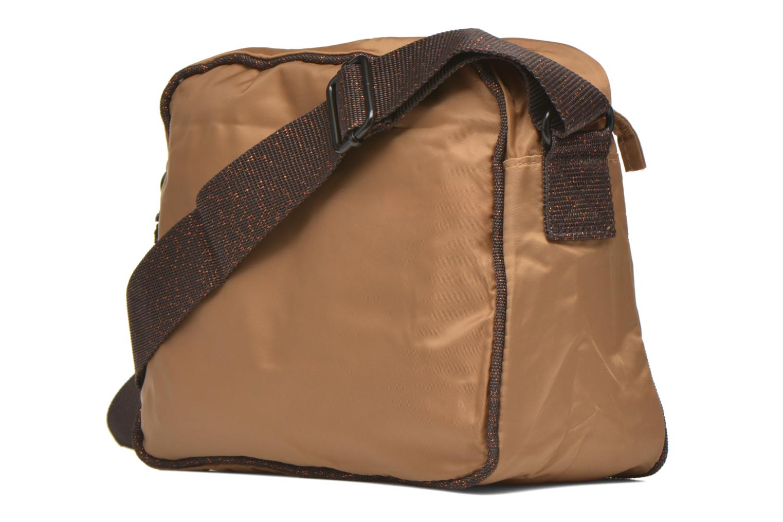 Handtaschen Bensimon Small Besace beige ansicht von rechts