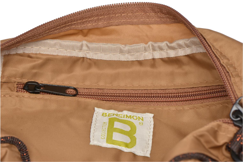 Handtaschen Bensimon Small Besace beige ansicht von hinten
