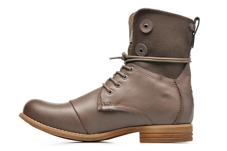 Bottines et boots Bunker Tara por Marron vue face