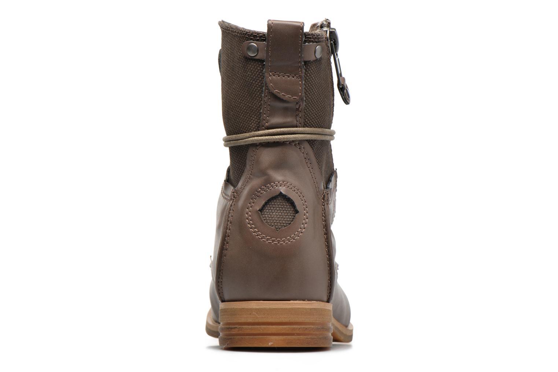 Bottines et boots Bunker Tara por Marron vue droite