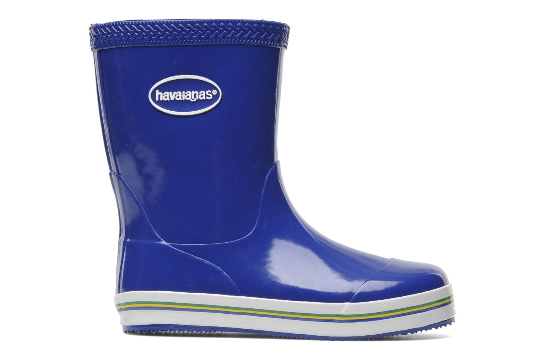 Stiefel Havaianas Aqua Kids Rain Boots blau ansicht von hinten