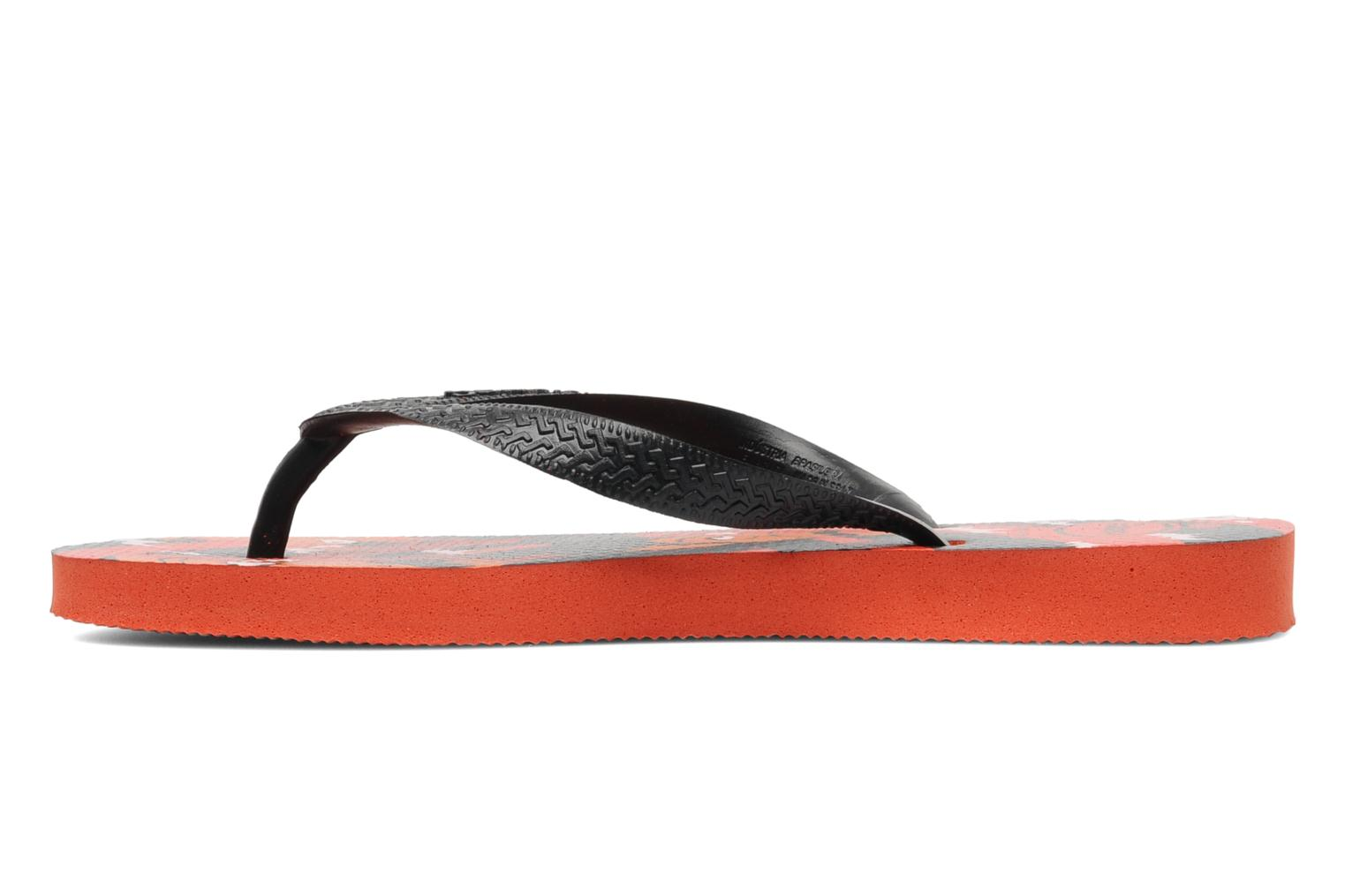 Tongs Havaianas Kids Scoobydoo Orange vue face